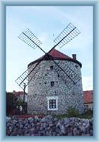 Ostrov u Macochy - windy mill