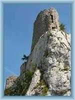 Ruin of castle Sirotčí hrádek