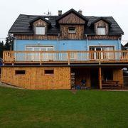 Modrá cottage