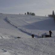 Skiresort Čenkovice - Nad parkovištěm