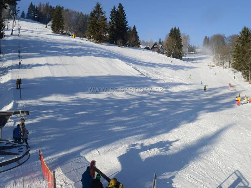 Ski resort Černá Říčka