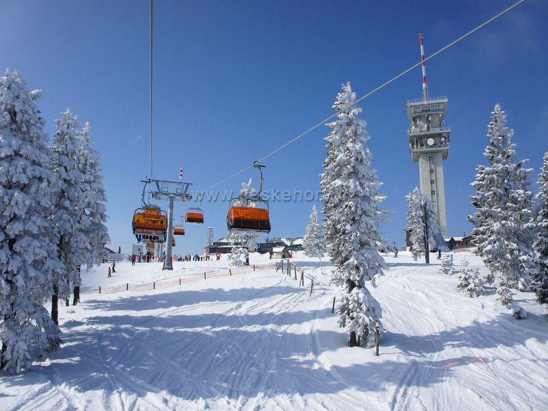 Ski resort Klínovec
