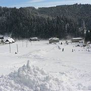 Ski resort Jezerné