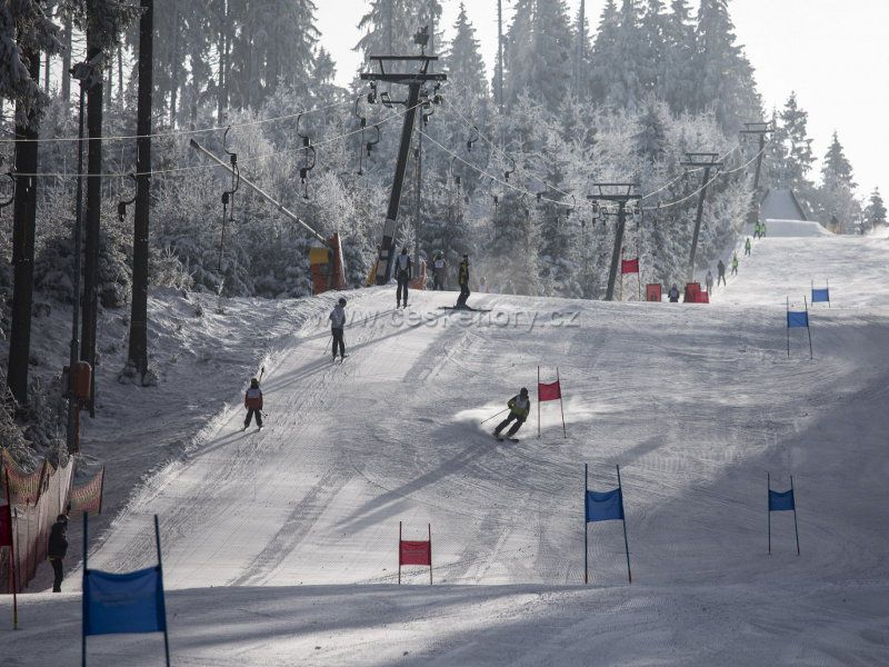 Ski resort Bílá