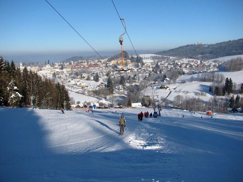 Ski resort Kašperské Hory