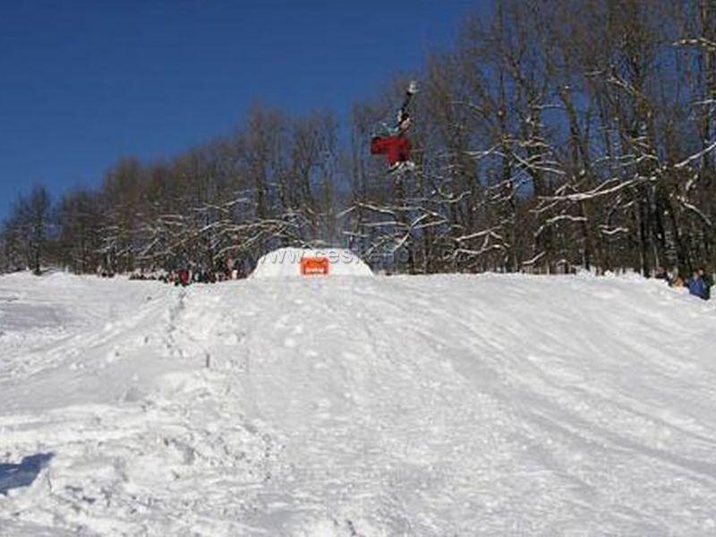 Ski centre - Snowpark Luž