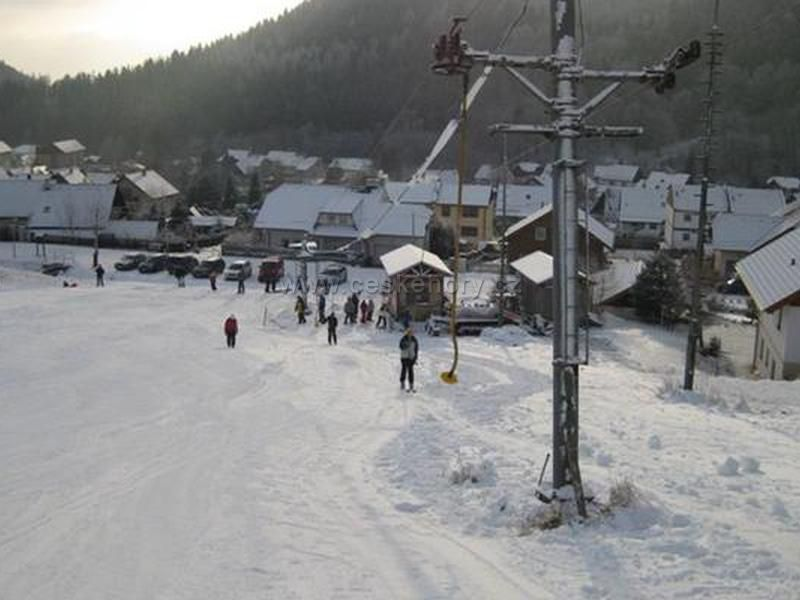 Ski resort Merklín