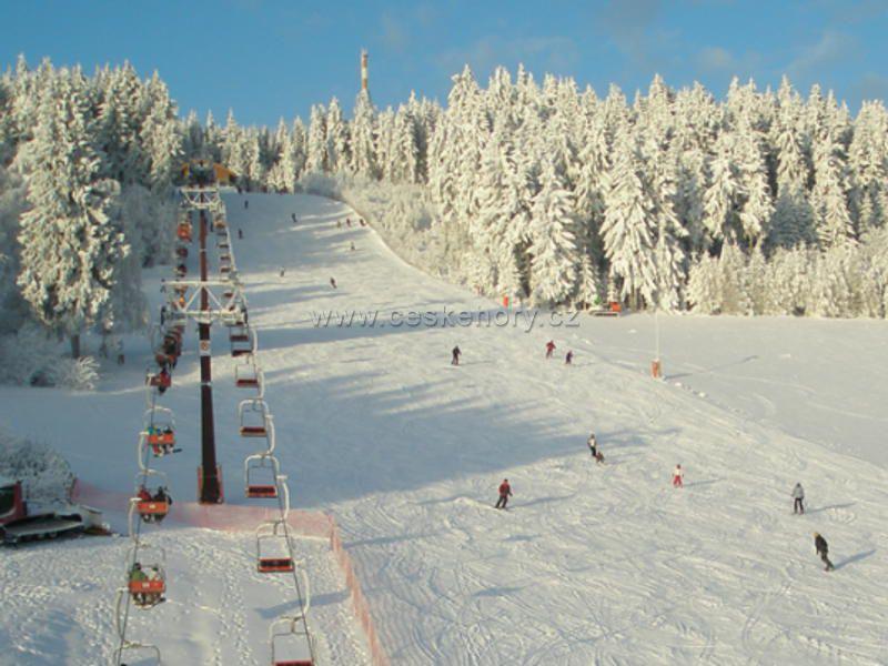 Ski resort Harusák Nové Město na Moravě