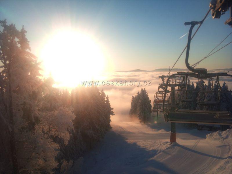 Ski resort Železná Ruda - Špičák