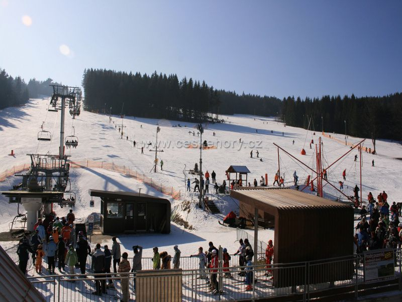 Ski resort Zadov - Churáňov
