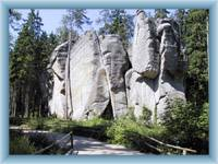 Adršpašské rocks