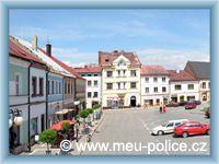 Police nad Metují - Town-square