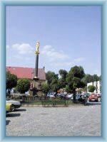 The town square in Hronov