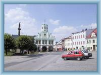 Police nad Metují - town square