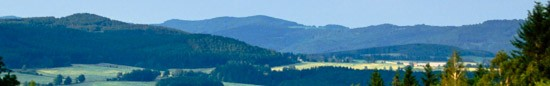 �umava mountains and Czech Forest