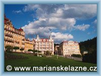 Marienbad - Geothe's town-square