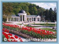 Marienbad - Colonnade of Rudolf´s spring
