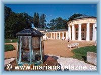Marienbad - Colonnade of Ferdinand´s spring