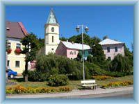 Lázně Kynžvart - town square