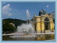 Mariánské Lázně  (Marienbad) - singing fountain