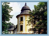 Zahrádky - castle