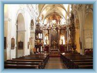 Litomerice - Church interior