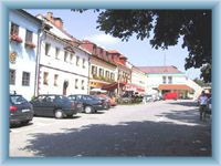 Centre of Frymburk