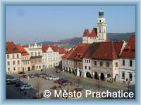 Prachatice - Town-square