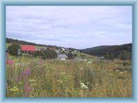 Sight of village Kvilda