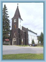Church of St. Stephen in Kvilda