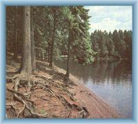 Lake Černé jezero