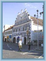 Town square in Sušice