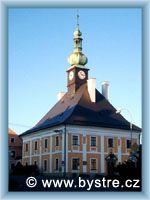 Bystré - Town-hall
