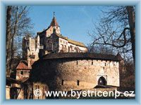 Bystřice nad Pernštejnem - Castle Pernštejn