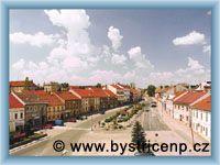 Bystřice nad Pernštejnem - Town-square
