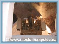 Humpolec - Orgel