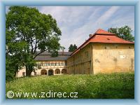 Ždírec nad Doubravou - castle Nový Studenec