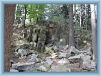 Area of Čeřín -rocks