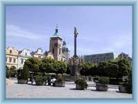 Townsquare in Havlíčkův Brod