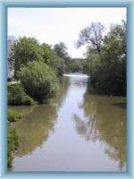 River Sázava in Havlíčkův Brod