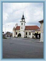 Heřmanův Městec - church