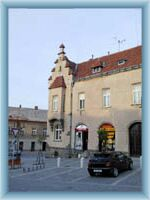 Townsquare in Hlinsko