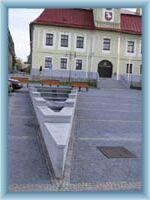 Hlinsko - fountain