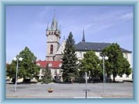 Townhall in Humpolec