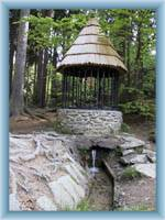 Silver fountain under Křemešník