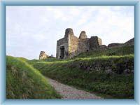 Ruin of castle Lichnice