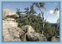 Děvět skal - rocks