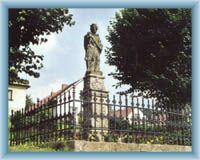Statue in Krucemburk