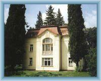 White villa in Krucemburk