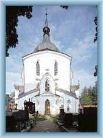 Church at Zelená mountain